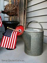 Eleanor Olander . Summer Front Porch Decor