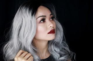 Granny Hair Makeup   Makeup for Grey Hair