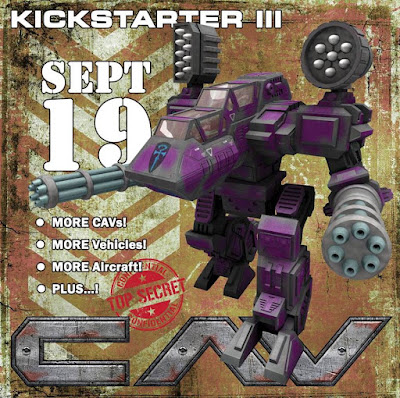 CAV: Strike Operations Kickstarter III by Talon Games