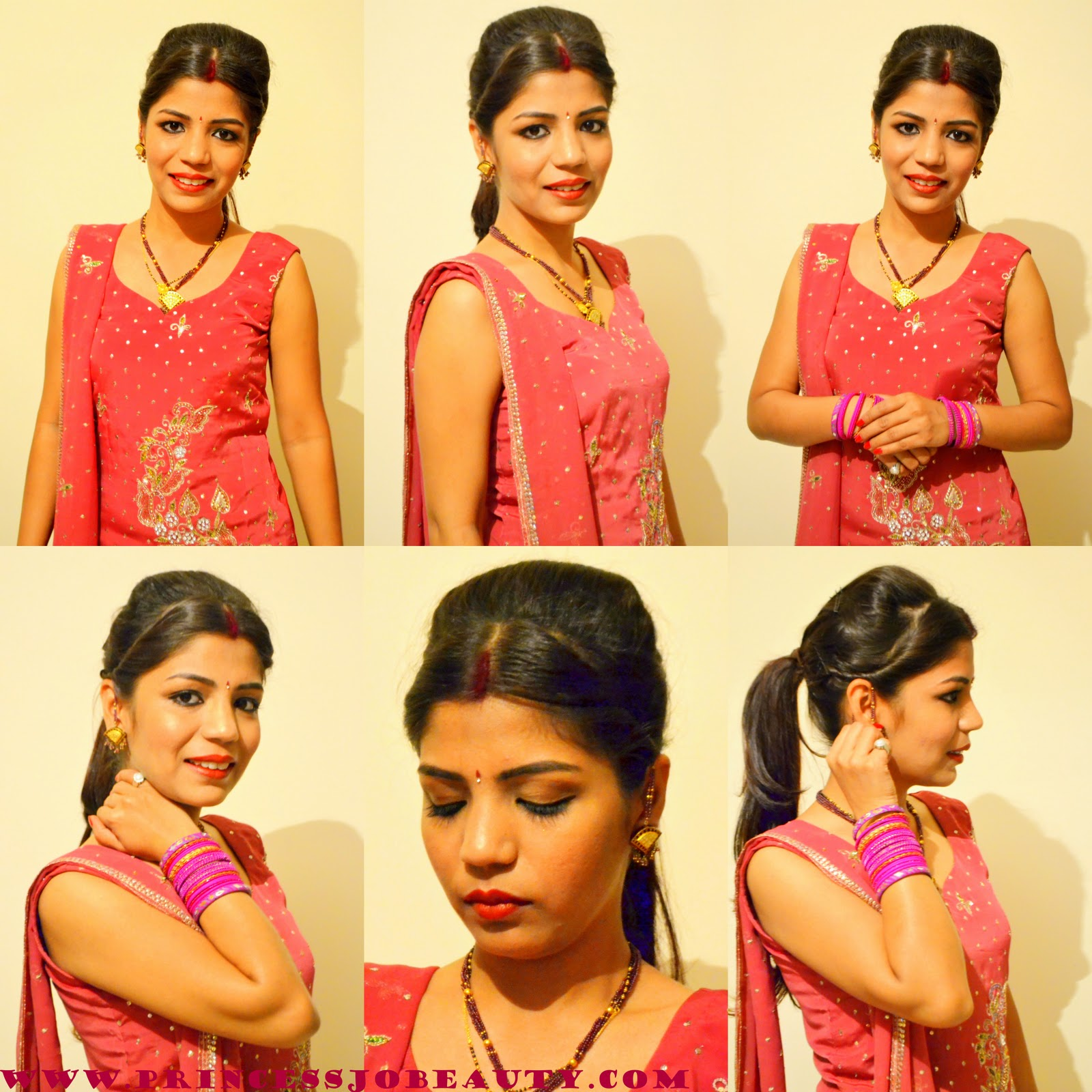 For Indian Hairstyle Indian Makeup Indian Outfit  Indian Jewelery