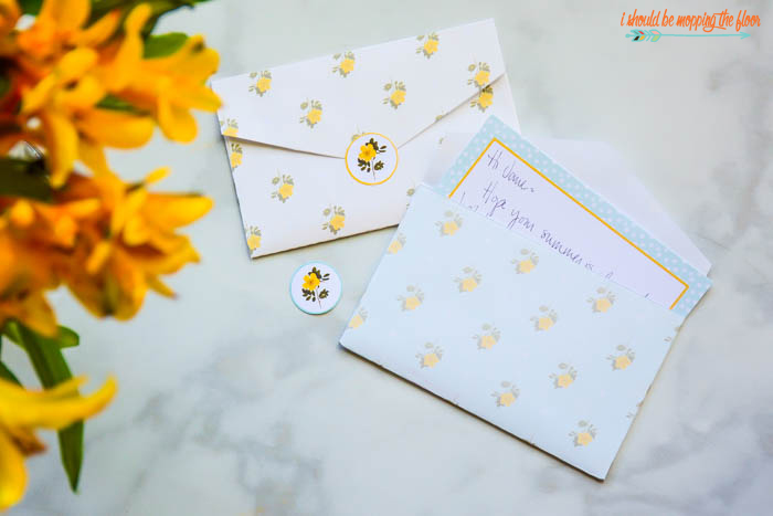 Printable Envelopes and Stickers