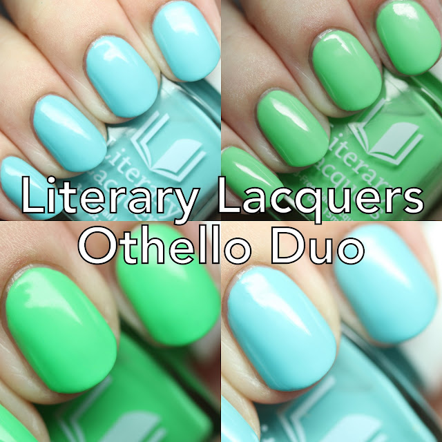 Literary Lacquers Othello Duo