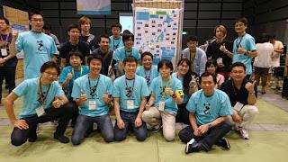 PyCamp 参加者との記念写真