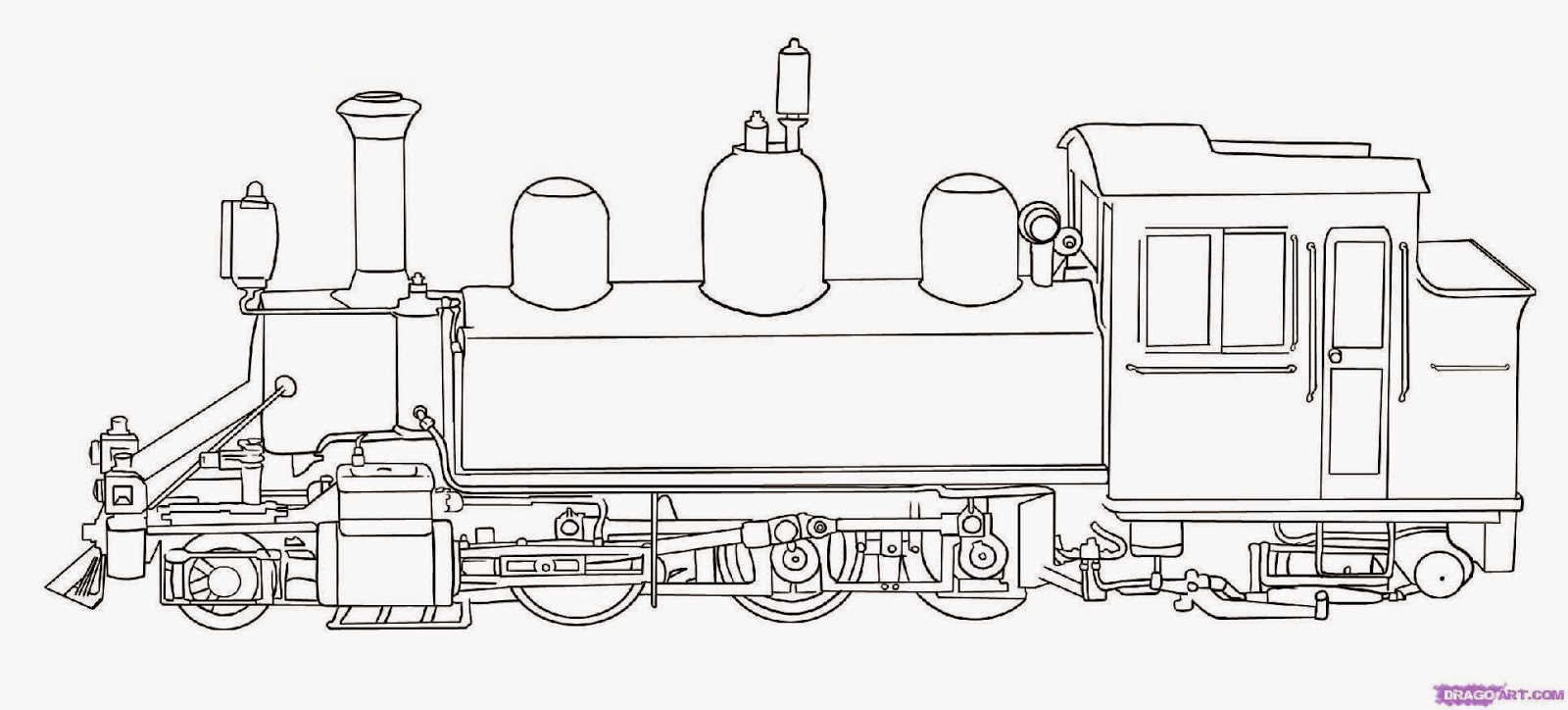 printable train coloring pages free - train pictures to color free coloring pictures