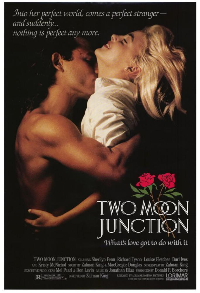 Sherilyn Fenn Richard Tyson Two Moon Junction 1988 movieloversreviews.filminspector.com poster