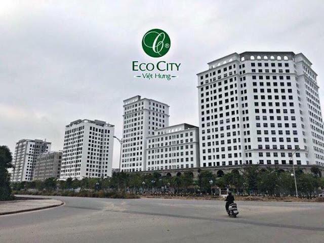 Vị trí đắc địa chung cư Eco city Việt Hưng
