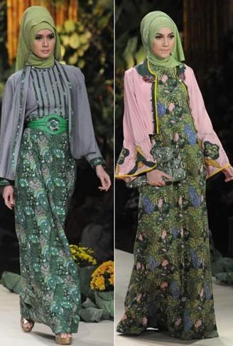 Gamis Batik Kombinasi Satin Banyak Dicari Hope To Read