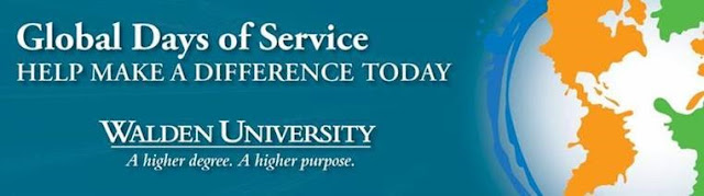 Global Days of Service: Help make a difference. Walden University