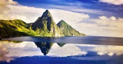 isla santa lucia caribe