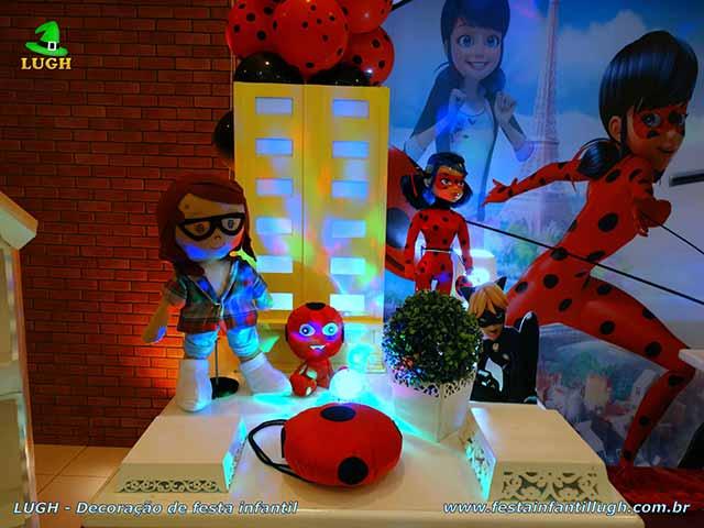 Decoração de festa infantil Ladybug - Miraculous - Aniversário