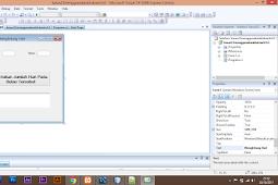 Aplikasi Menghitung Hari Pemrograman C#