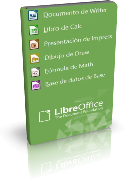 LibreOffice 6.4.5 - Suite ofimática gratuita, alternativa a Office de Microsoft - Español