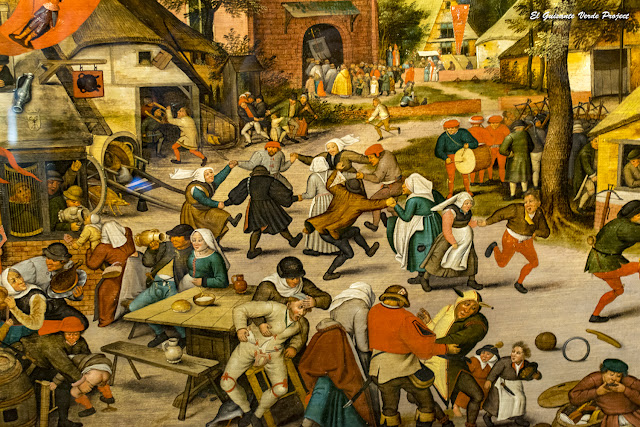 Peter Brueghel el Viejo, 'Sint Joriskermis' - KMSKA, Amberes  por El Guisante Verde Project