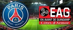 Paris Saint Germain vs Guingamp