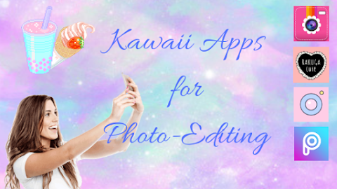 Best Apps for Kawaii Photo-Editing For iPhone- Kawaii Fridays!