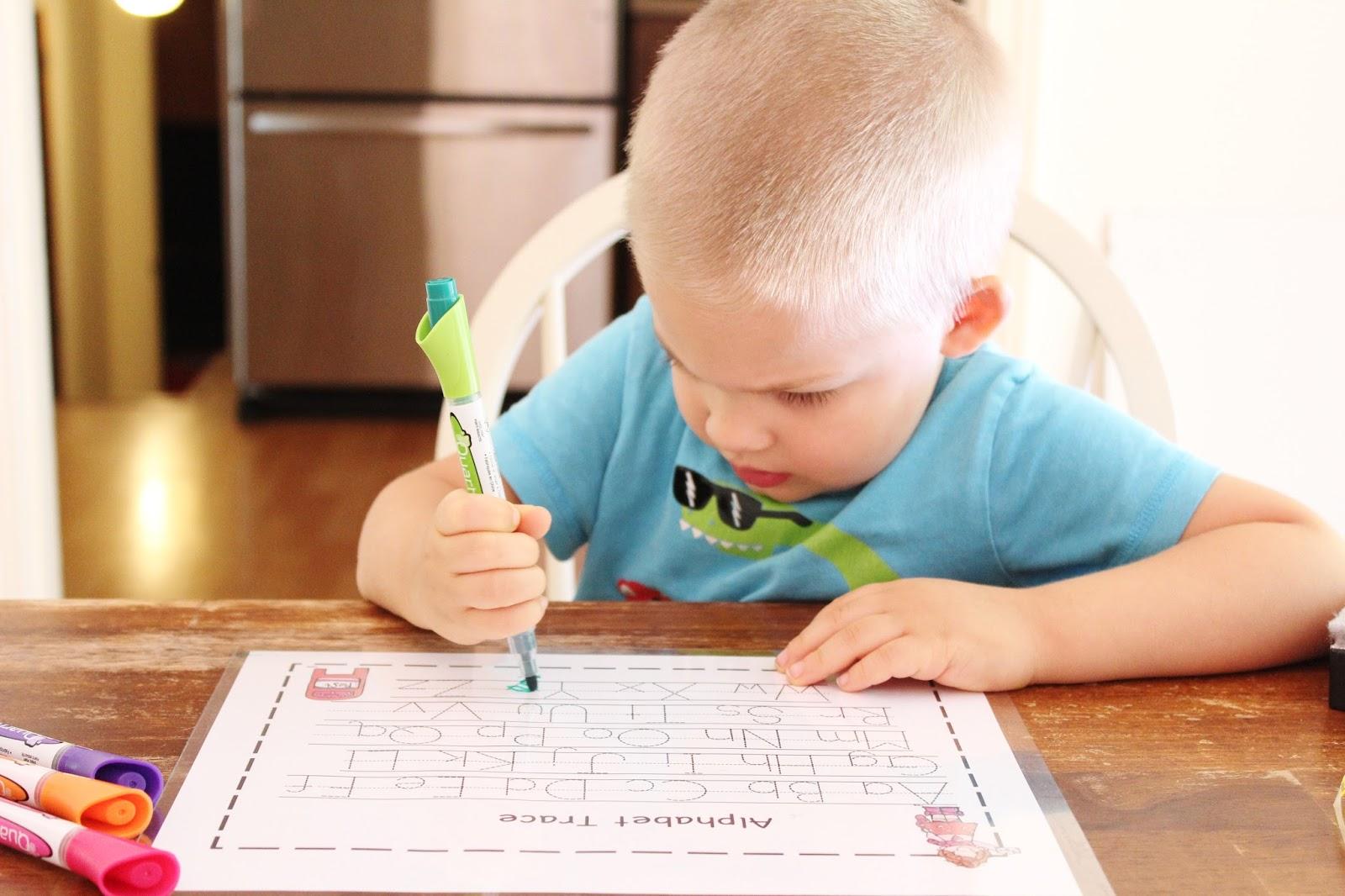 Diy Laminated Preschool Worksheets