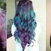 Colorful Waterfall braids!