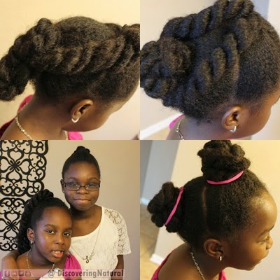 Twists on Natural Hair Styles