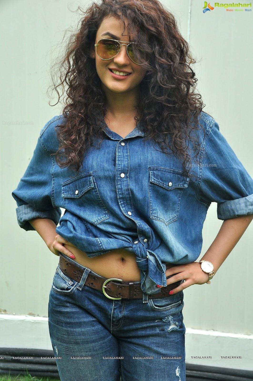 Seerat Kapoor Navel In Blue Jeans Stills Serial Actress Hot