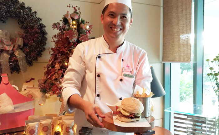 Marco Polo Davao Executive Chef, Alex Destriza