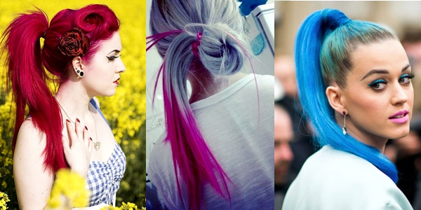 Totally in love with colorful hair! - The HairCut Web