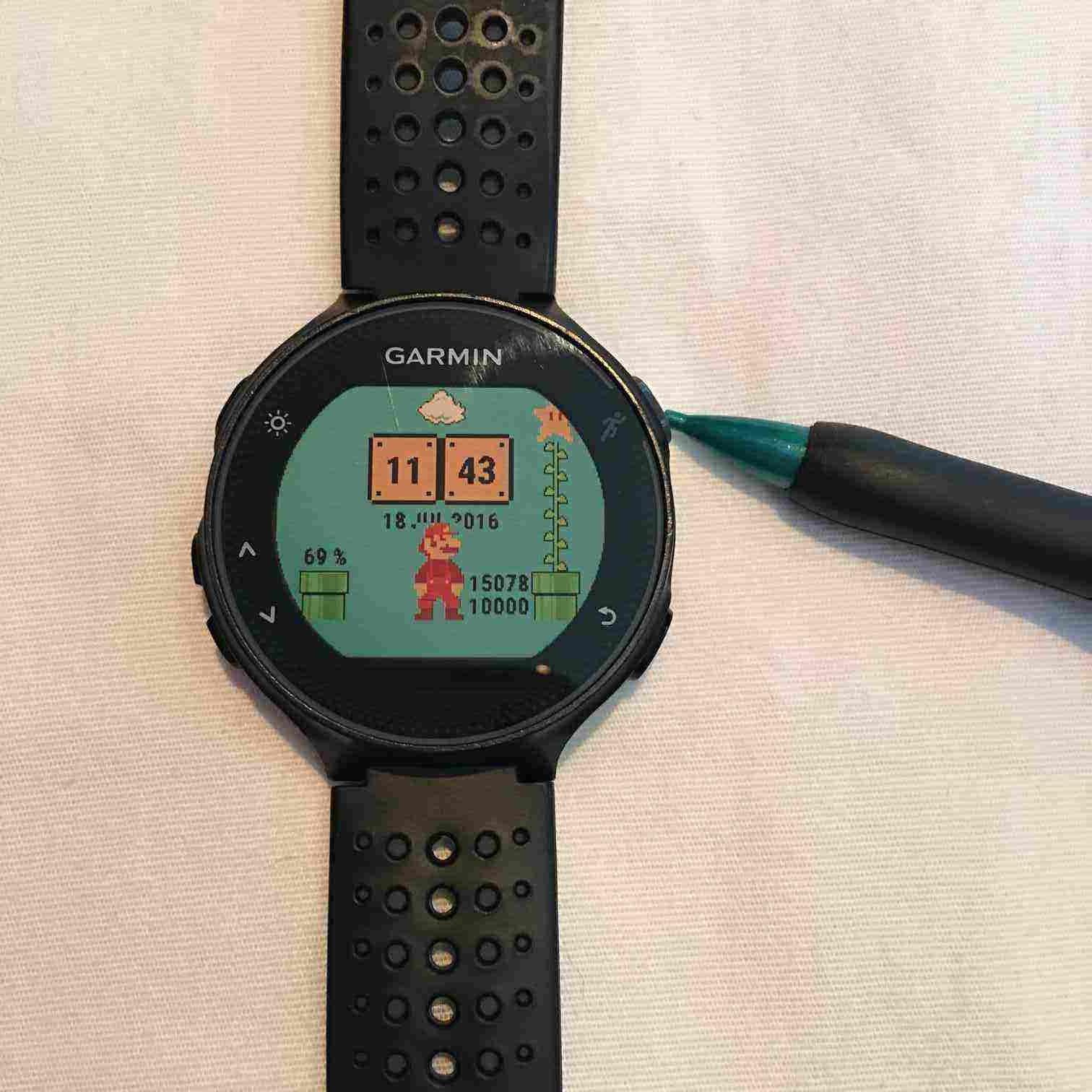 Garmin forerunner® 235 smart watches download instruction.
