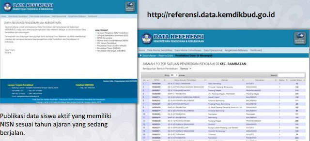 gambar hasil Verval PD di web kemdikbud