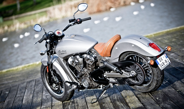 INDIAN Scout: more than one string to his bow!