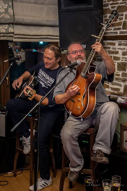 Ηλίας Ζάικος( Blues Wire)Και Νίκος Ντουνούσης (Nick And The Backbone) απόψε  Στο Castillo!