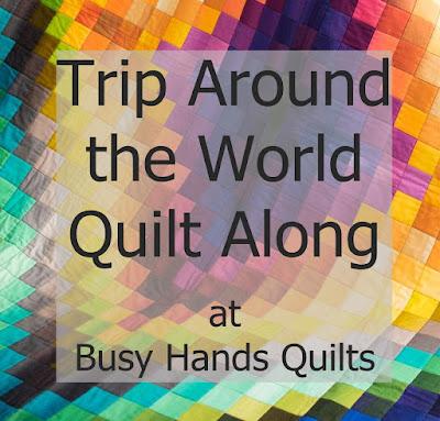 Trip Around the World Quilt Along