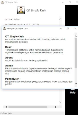QT Simple Kasir