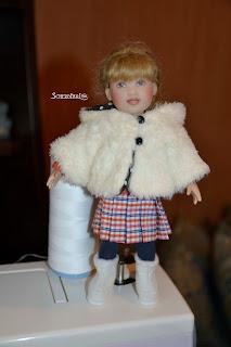 шуба для куклы
