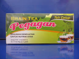Teh celup daun pegagan obat herbal