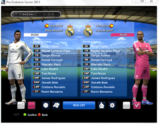 Download Update Pemain + Kits 2014/2015 PES 2013