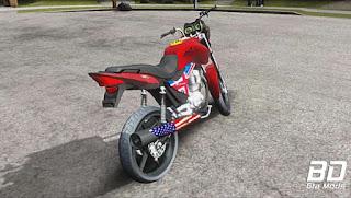 Mod , Moto , Titan 150 Mix Dixavada para GTA San Andreas, GTA SA