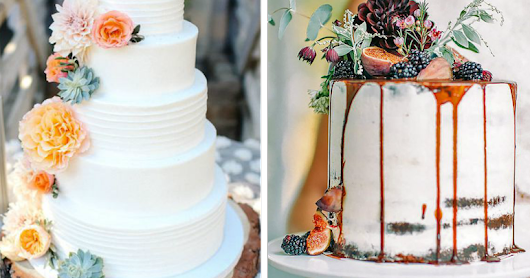 Obsessed With Autumnal Wedding Cakes