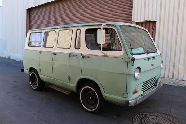1966 Chevy Sportvan Deluxe | Auto Restorationice
