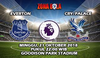 Prediksi Bola Everton vs Crystal Palace 21 Oktober 2018