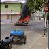 Veículo pega fogo em movimento no centro de Catolé do Rocha
