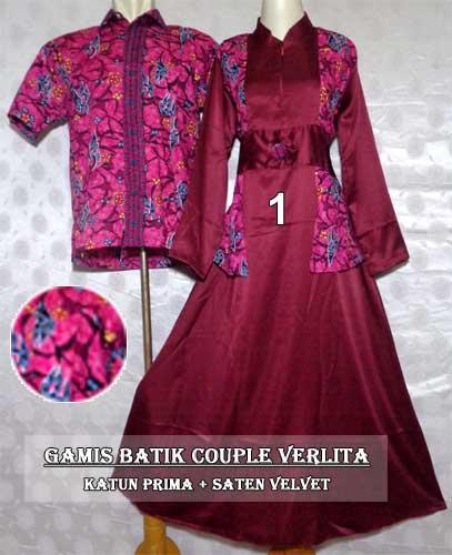 Dress Panjang Gamis Batik Couple Murah Terbaru Facebook Trends