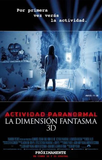 Actividad Paranormal: Dimensión Fantasma - Portada