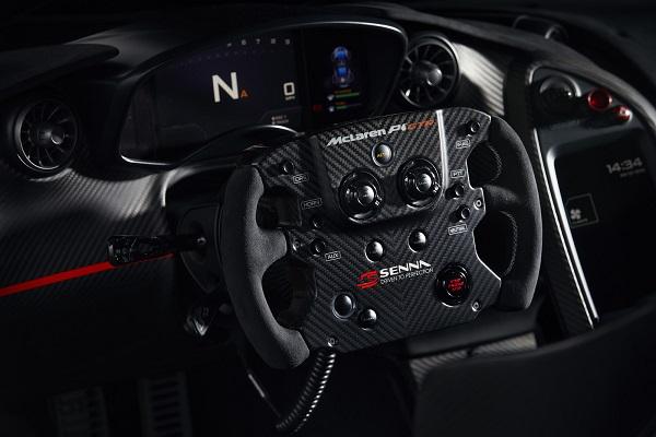 McLaren P1 GTR Beco Ayrton Senna Interior