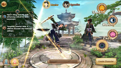 Age of Wushu Dynasty v8.0.1 Apk Mod )Mana/No Skill Cooldown)