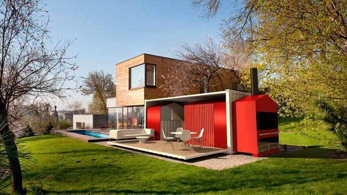 Icono interiorismo casas construidas con contenedores - Contenedores maritimos casas ...