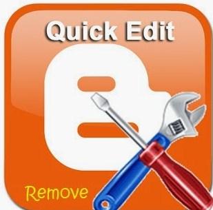 Cara Menghilangkan Logo Quick Edit (Tang&Obeng) Pada Blogger