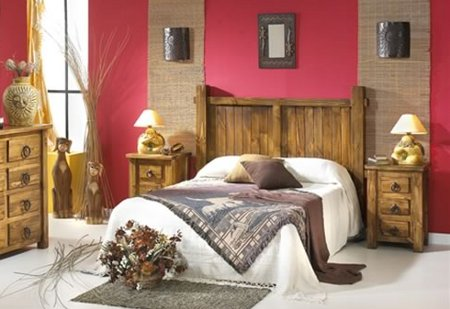 Decorate in warm colors 3