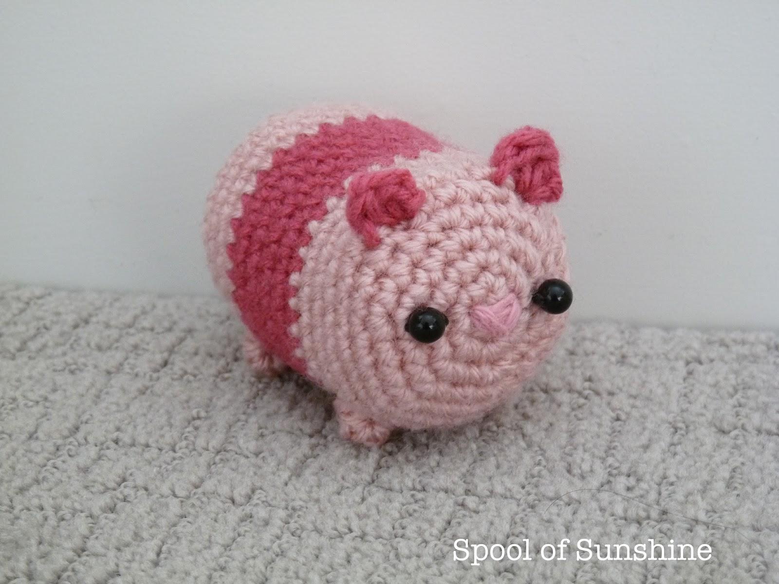 Crochet pattern Piglet | Sabrina's Crochet | 1200x1600