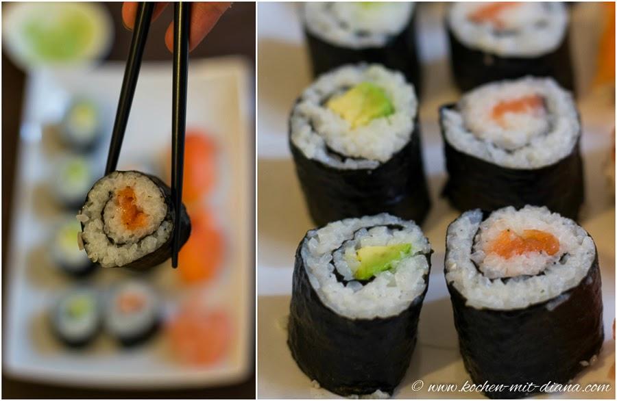 Maki und Sushi