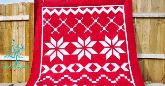 Modern Tradition Quilts Baptist Fan Quilting Star Quilt