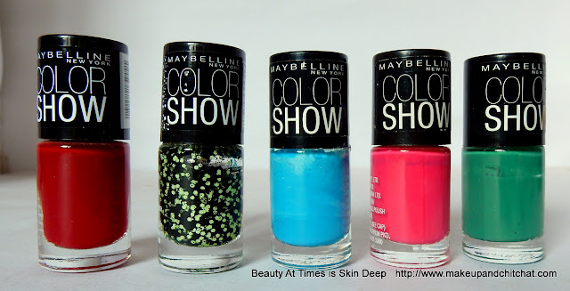 Maybelline Colorshow nail polish